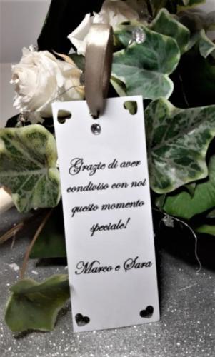 SEGNAPOSTO MATRIMONIO CARTELLI 1